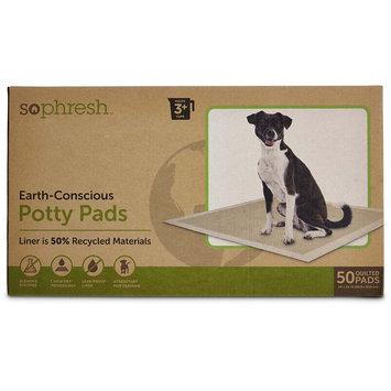 So Phresh Earth-Conscious Potty Pads, 50 CT