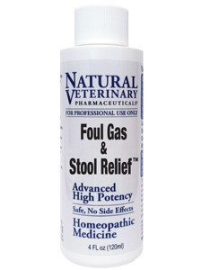 Natural Veterinary Pharmaceuticals Foul Gas & Stool Relief 4 oz