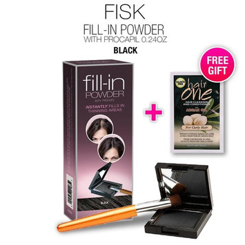 1-PACK Cover Your Gray Fill-in Powder with Procapil, (Black) with Free Sulfate-Free Shampoo