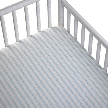 Cocalo Baby Fitted Sheet Lite Blue