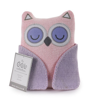 Cocalo Knitted Toy - Owl - Pink/Orchid