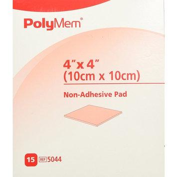 PolyMem Non-Adhesive Wound Dressing, Sterile, Foam, 4' X 4' Pad, 5044 (Box of 15)