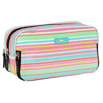 SCOUT 3-Way Bag, Toiletry & Cosmetic Multi Compartment Travel Organizer, 3 Zipper Compartments, Water Resistant, Sol Surfer
