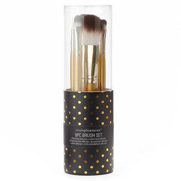 Simple Pleasures 6-pc. Makeup Brush Set, Ovrfl Oth