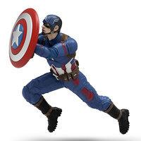Captain America: Civil War Team Captain America 2016 Hallmark Keepsake Christmas Ornament, Black