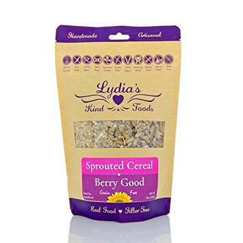 Lydia's Kind Foods Berry Good Cereal, 12 oz