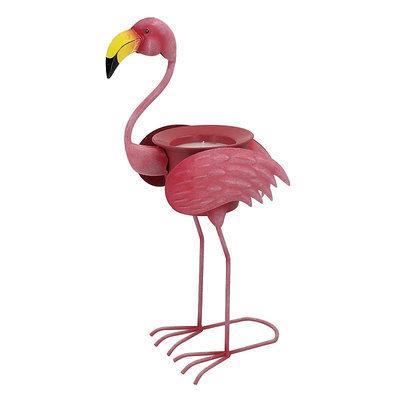 Celebrate Spring Together Outdoor Flamingo Citronella Candle, Multicolor