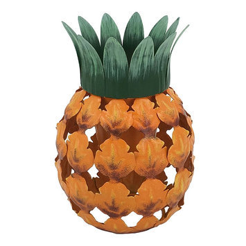 Celebrate Spring Together Outdoor Pineapple Citronella Candle, Multicolor