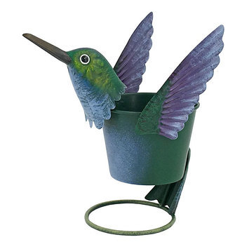 Celebrate Spring Together Outdoor Hummingbird Citronella Candle, Multicolor