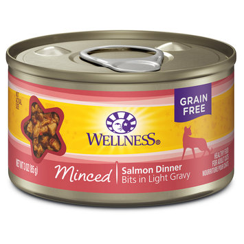 Wellpet Llc Wellness Minced Salmon Dinner - 24x3 oz
