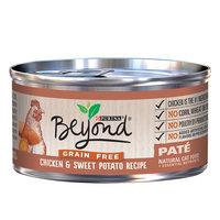 Purina Beyond Grain-Free Chicken & Sweet Potato Pate Recipe Canned Cat Food