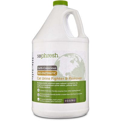 So Phresh Earth-Conscious Bio-Enzymatic Cat Urine Fighter & Remover, 1 Gallon