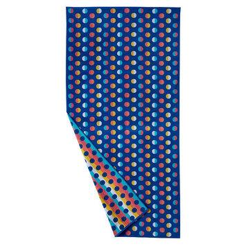 The Big One® Dot Beach Towel, Blue