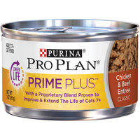 PRO PLAN® PRIME PLUS® ADULT 7+ Chicken & Beef Entree Classic