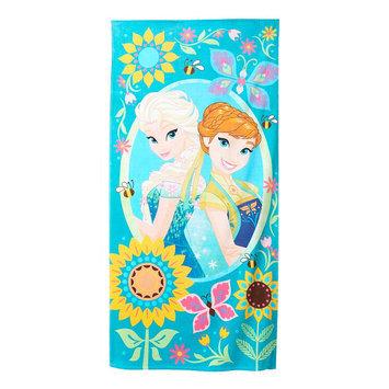 Disney/Jumping Beans Frozen Fever Beach Towel, Multicolor