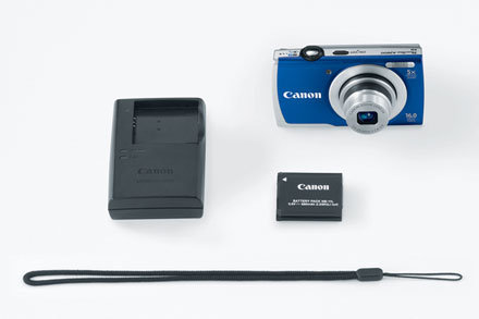 Canon 16.0 Megapixel PowerShot A2600 Digital Camera Blue - CANON INC/TOKYO VIDEO DIVISION