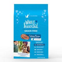 WholeHearted Grain Free Salmon Formula Dry Cat Food, 12 lbs.