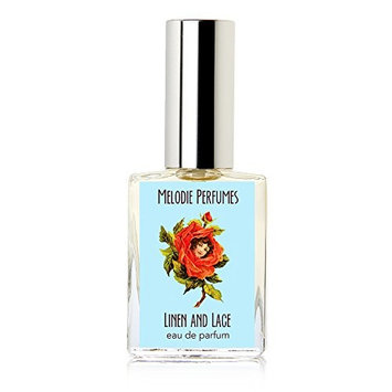 Linen and Lace perfume by Melodie perfumes. Hyacinth, lilac, freesia, florals perfume