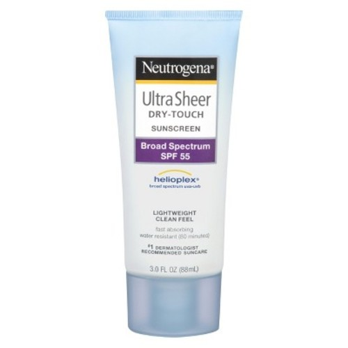Neutrogena Ultra Sheer Sunscreen Lotion - SPF 55 - 3oz