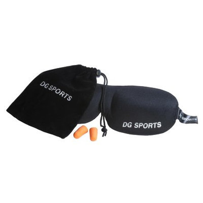 Dgsports 2 Pack Sleep Set Beauty with 2 PrettyCare 3D Eye Mask, 2 Pairs of Ear Plugs & Silk Travel Bag