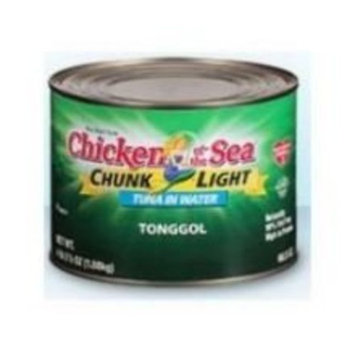 Chicken of the Sea Tonggol in Water and Salt, 66.5 Ounce - 6 per case.