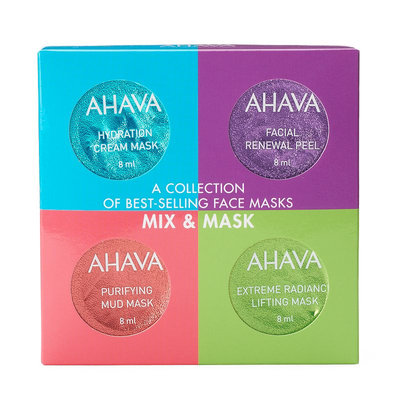 Ahava 4-pc. Mix & Mask Collection Kit, Multicolor