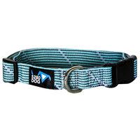 5280 Dog 5280DOG Turquoise Braided Collar, Large