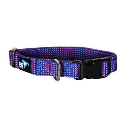 5280 Dog 5280DOG Royal Blue Braided Collar, Large