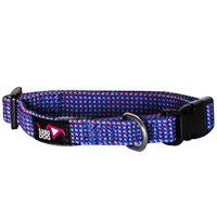 5280 Dog 5280DOG Royal Blue Braided Collar, Small