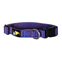 5280 Dog 5280DOG Royal Blue Braided Collar, Medium