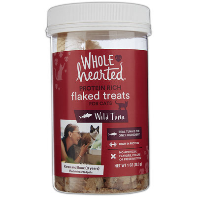 WholeHearted Flaked Cat Treats - Wild Tuna, 1 OZ