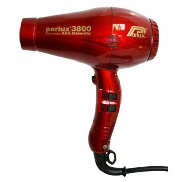 Parlux 3800 Ionic & Ceramic Eco Friendly Hair Dryer - PARLUX3800RD