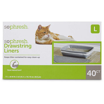 So Phresh Drawstring Cat Litter Box Liners 17