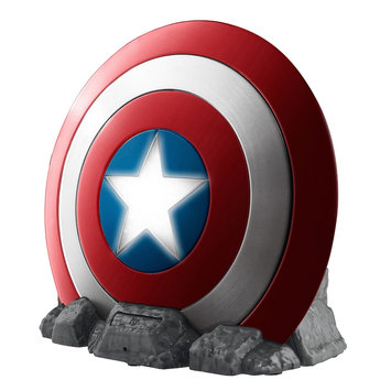 Kiddesigns Vi-B72CA. FMV6 Captain America Shield Bluetooth Speaker with