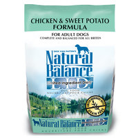 Natural Balance Limited Ingredient Diets Chicken & Sweet Potato Dog Food, 4.5 lbs.