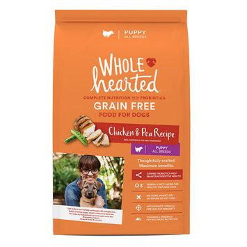 WholeHearted Grain Free Chicken & Pea Recipe Puppy Dog Food