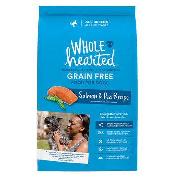 WholeHearted Grain Free Salmon & Pea Recipe Dog Food, 14 lbs.