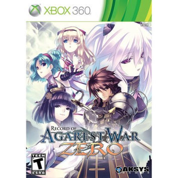 Aksys Record of Agarest War Zero Standard Edition (Xbox 360)