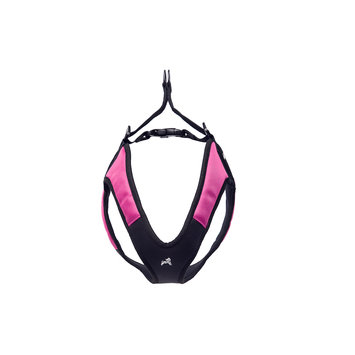 Gooby Pet Gooby Escape Free Harness in Hot Pink, Small