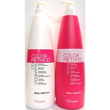 Framesi Color Method After Color Shampoo & Mask Conditioner Set - 35 oz. each bottle