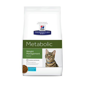 Hill's Prescription Diet Metabolic Feline Weight Management Ocean Fish Formula Dry Cat Food