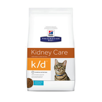 Hill's Prescription Diet Hills Prescription Diet k/d Feline Kidney Care with Ocean Fish Dry Food