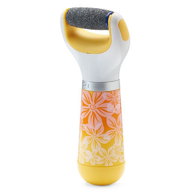 Amope Pedi Perfect With Diamond Crystals Extra Coarse Foot File Device - Limited Edition, Yellow