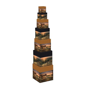 The Lang Companies LANG TERRY REDLIN BOB'S BOXES - 7 STACK
