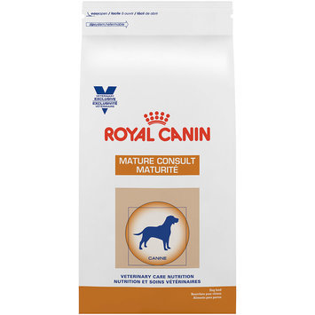 Royal Canin Veterinary Diets Royal Canin Veterinary Diet Mature Consult Formula Dry Dog Food, 8.8 lb Bag