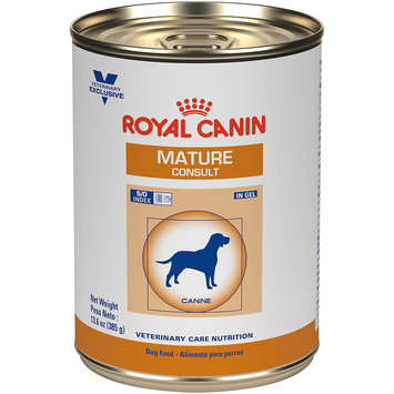 Royal Canin Veterinary Care Mature Consult In Gel Canned Dog Food, 13.6 oz, Case of 24