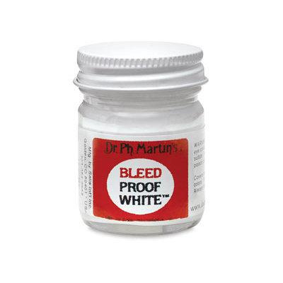 Dr. Ph. Martin s Bleed Proof White 1 oz. bottle opaque white
