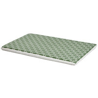 Midwest QuietTime Defender Series Reversible Crate Pad Green, XX-Large, Green / White