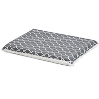 Midwest QuietTime Defender Series Reversible Crate Pad Grey, Small, Gray / White