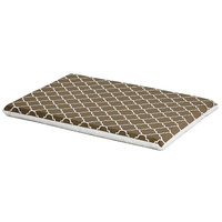 Midwest QuietTime Defender Series Reversible Crate Pad Brown, Large, Brown / White
